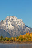 Fall Landscape in the Tetons Stock Images