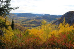 Fall landscapes, Canada Stock Image