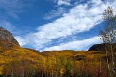 Fall landscapes, Canada Royalty Free Stock Image
