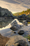 Fall-Landschaft in HDR Stockbilder
