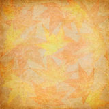 Fall Leaf Mosaic royalty free illustration