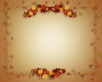 Fall Leaves Autumn Background Stock Image