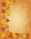 Fall Leaves Border autumn Royalty Free Stock Photo