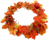 Fall Leaves Ring Stock Photos