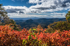 Fall at Looking Glass Rock Royalty Free Stock Images