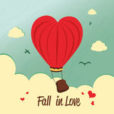 Fall in  love Royalty Free Stock Image