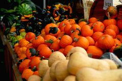 Fall market Royalty Free Stock Photo