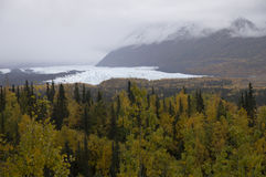 Fall Matanuska Glacier Alaska Stock Photos