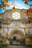 Fall of the monastery. Stock Photo