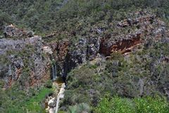 The Fall in Morialta Conservation Park Stock Images