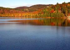 A fall morning. In Killarney Provincial Park at George Lake Royalty Free Stock Image