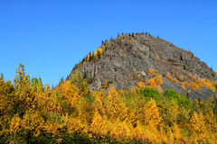 Fall Mountain Royalty Free Stock Image
