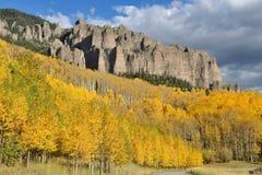 Fall Mountain Ridge Royalty Free Stock Photos