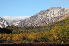 Fall mountain scenic Royalty Free Stock Photography