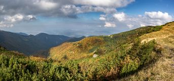 Fall in mountains Stock Photography