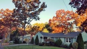 Fall-Nachbarschaft Stockbilder