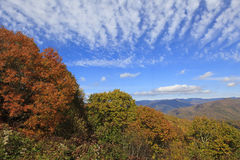 Fall in the NC Mountains Royalty Free Stock Images