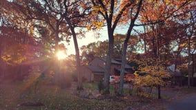 Fall Neighborhood Royalty Free Stock Photos