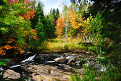 Fall in New England Royalty Free Stock Image