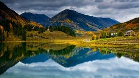 Fall At Nicholoson Lake Royalty Free Stock Image