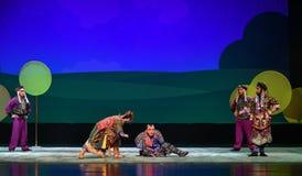 "The fall of the Niu Tong-Peking opera ""Little Worriors of Yeuh's family"" Stock Photos"