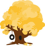 Fall Oak Tree Royalty Free Stock Photo