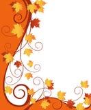 Fall  ornate design Stock Image