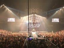Fall Out Boy Charlotte, NC Fotos de Stock