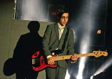 Fall Out Boy esegue di concerto fotografie stock