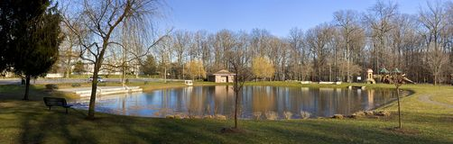 Fall Panorama Royalty Free Stock Photography