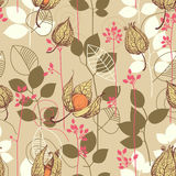 Fall pattern Royalty Free Stock Photography