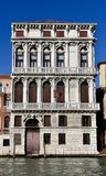 Italianate Architecture on the Grand Canal Stock Images