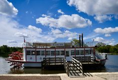 Fox River Queen royalty free stock photos