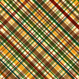 Fall-Plaid-Muster Lizenzfreies Stockbild