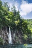 Fall in Plitvice Seen Lizenzfreie Stockfotos