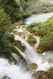 Fall in Plitvice Seen Stockfoto