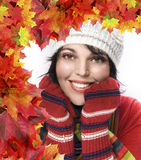 Fall portrait Stock Photo