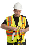 Fall protection awareness Royalty Free Stock Photos