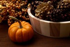 Fall - Pumpkin Arrangement Royalty Free Stock Images