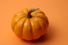 Fall - Pumpkin on Orange Royalty Free Stock Image