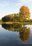 Fall Reflection Stock Photography