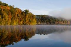Fall reflections Stock Image