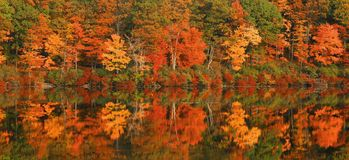 Fall Reflections Royalty Free Stock Photos