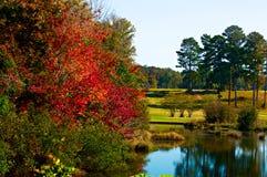 Fall Reflections Stock Photo