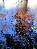 Fall reflections. In a lake Royalty Free Stock Images