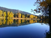 Fall reflections Royalty Free Stock Image
