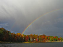 Fall-Regenbogen Lizenzfreies Stockfoto