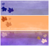 Fall Related Headers or Banners Royalty Free Stock Photography