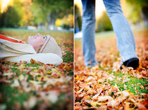 Fall Relax Royalty Free Stock Photography