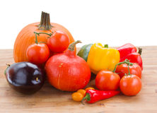 Fall ripe of vegetables Stock Images